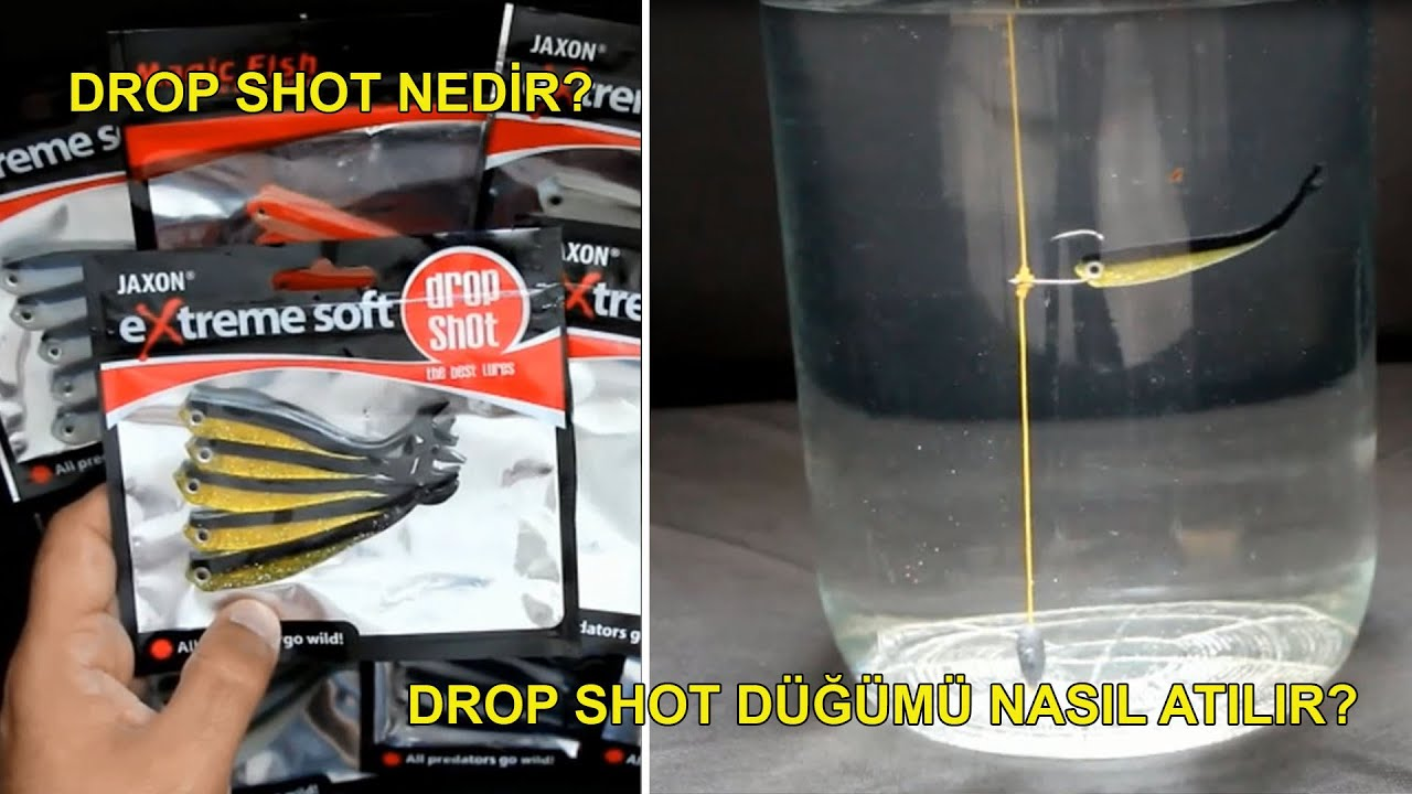Drop shot nedir? Drop shot takımı nasıl hazırlanır?