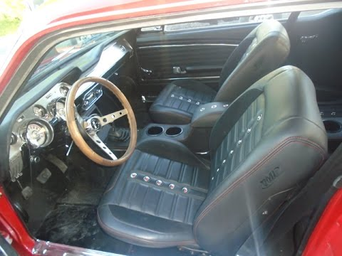 mustang tmi seat upholstery installation 1965 1968 front seats youtube. Black Bedroom Furniture Sets. Home Design Ideas
