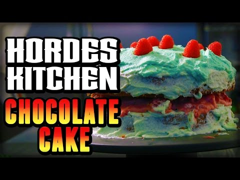 Delicious Chocolate Cake From World Of Warcraft