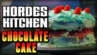 Delicious Chocolate Cake from World of Warcraft - Hordes Kitchen