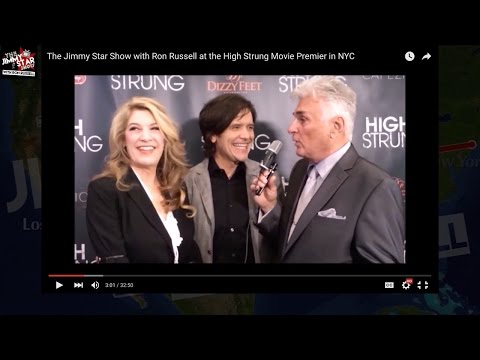 The Jimmy Star Show with Ron Russell at the High Strung Movie Premier in NYC