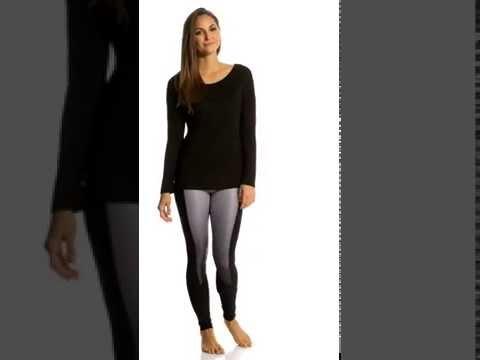 MPG Women's Chia Drape L/S Fitness Shirt | SwimOutlet.com