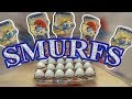 44  Smurfs Kinder Surprise eggs Unboxing video 2017