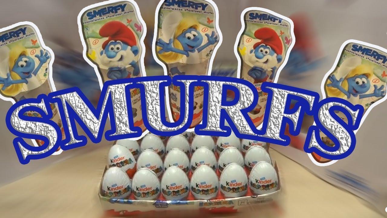 SMURFS: THE LOST VILLAGE 44 Kinder Surprise eggs Unboxing video 2017 #85
