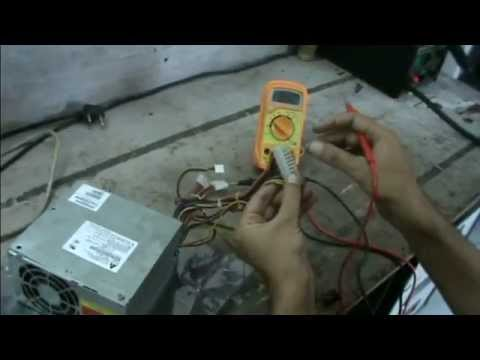 How to Test PC SMPS; SMPS Repair part-1(telugu) - YouTube