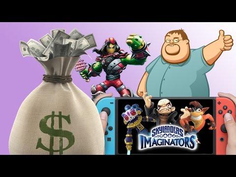 Skylanders Imaginators HARD SELL