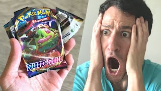 *I FINALLY PULLED IT!* Sword and Shield Pokemon Cards Opening!