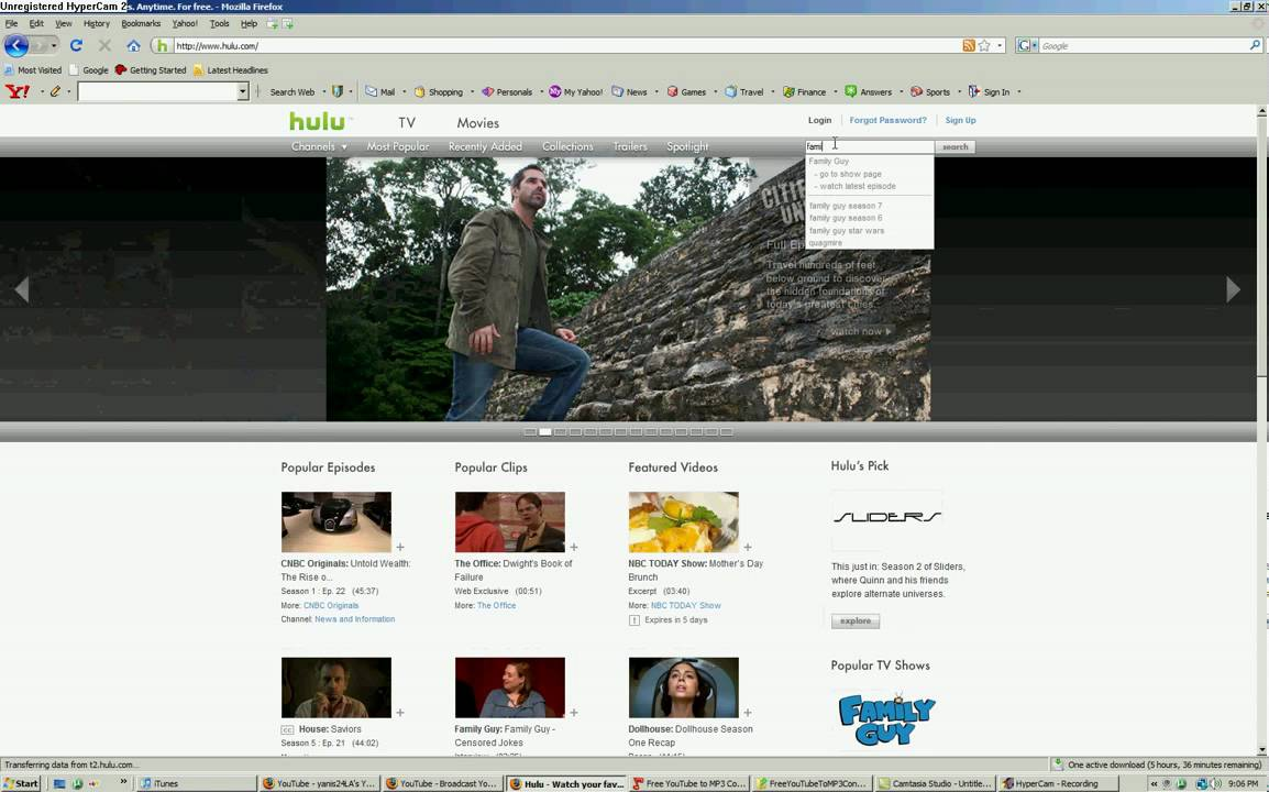 Hulu.com-How To Watch TV Shows For Free - YouTube