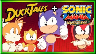 SonicTales Adventures: Sonic Mania DuckTales Theme Song Mashup