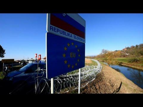 Slovenia police deployed on Croatia border