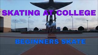 SKATING AT COLLEGE   BEGINNERS SKATE