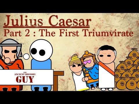 Julius Caesar - Part 2 - The First Triumvirate