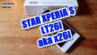 Star Xperia S LT26i x26i Dualsim Android Phone Review - MT6575 Sony Clone? Fastcardtech ColonelZap