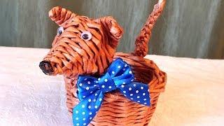 видео Новогоднее плетение из газет. ЗВЕЗДЫ из газетных трубочек :: Бизнес :: Страница 732
