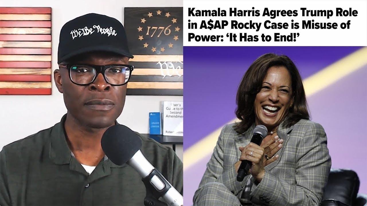 ABL Kamala Harris Says Trump Helping ASAP Rocky Is ABUSE OF POWER!