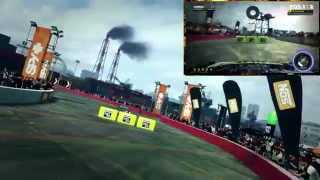 DiRT Showdown PC Gameplay: Ken Block Gymkhana || D