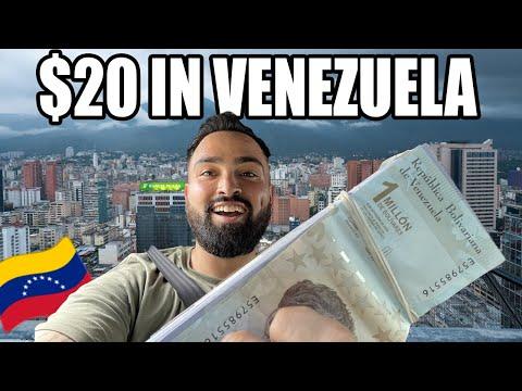 What Does $20 Get You in Caracas, Venezuela? 🇻🇪  (80 Million Bolívares)