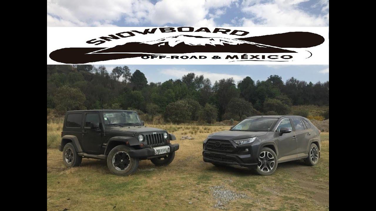 Toyota Rav4 2019 Vs Jeep Wrangler Jk Off Road Test Youtube