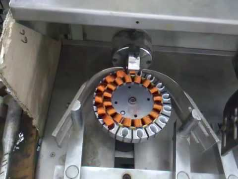 Ceiling Fan Stator Coil Winding Machine China Youtube