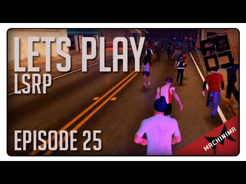 [LSRP] Let's Play - Episode 25 - Los Santos Marathon