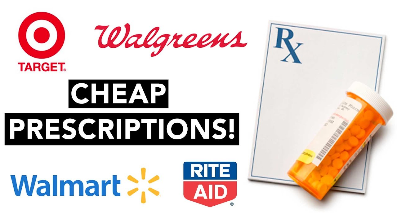 How to get CHEAP Discount Prescriptions (Works at Walmart, Target ...
