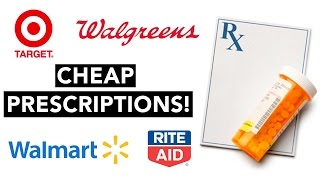 How to get CHEAP Discount Prescriptions (Works at Walmart, Target, Walgreens + MORE)