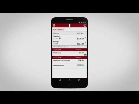 Banking Made Easy | The First Financial Banking App Overview