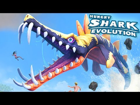 Download Youtube: NEW SHARK LIOPLEURODON UNLOCKED!! - Hungry Shark Evolution - Ep 36 HD