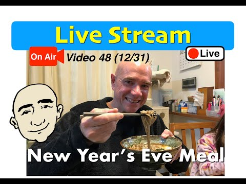 Mark Kulek - Live Stream | New Year's Eve Traditional Japanese Meal