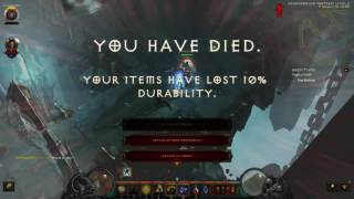 Playing with Noah (Diablo 3 because I fucking suck at it)