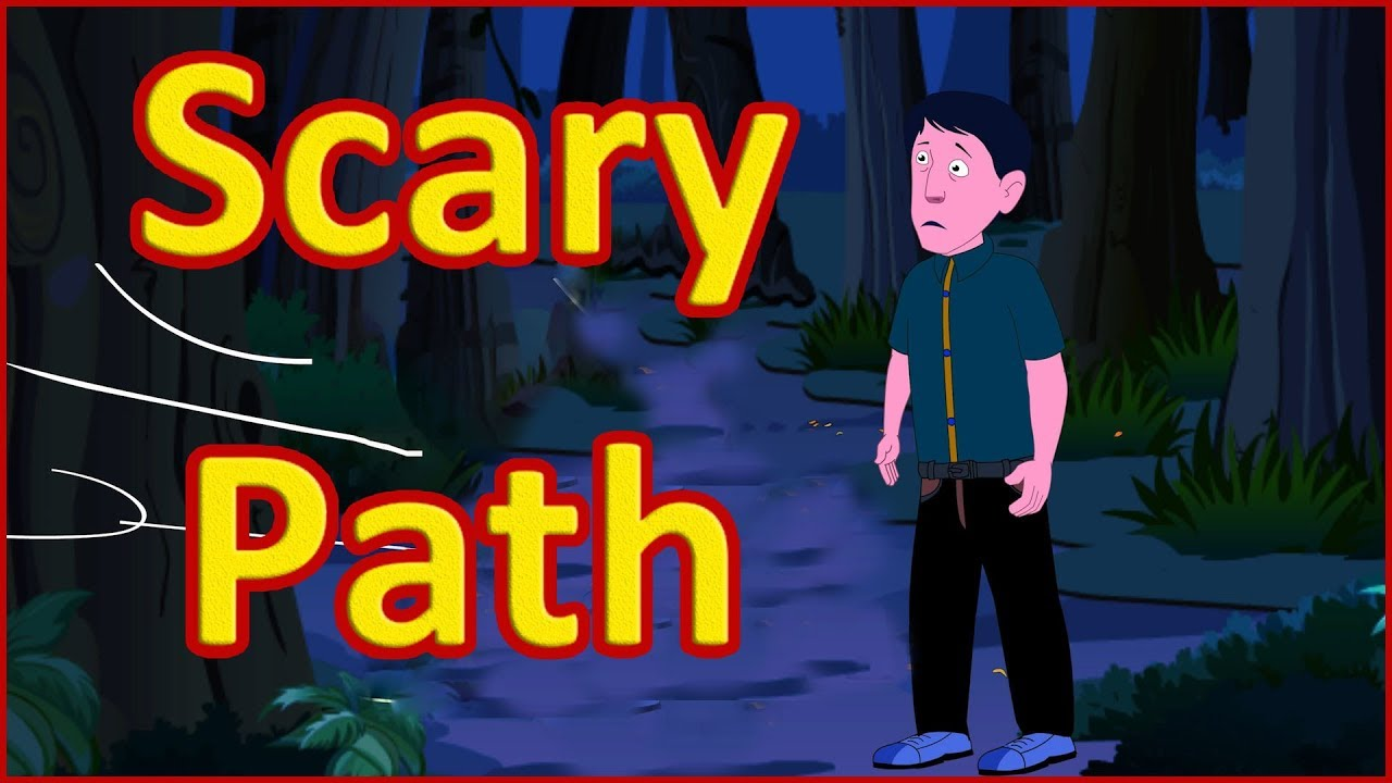 The Scary Path | Moral Stories for Kids | English Cartoon | Maha Cartoon TV  English