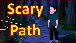 The Scary Path   Moral Stories for Kids   English Cartoon   Maha Cartoon TV English