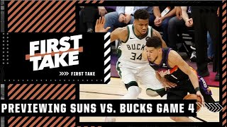 Max explains why the Suns have the edge in the series over the Bucks