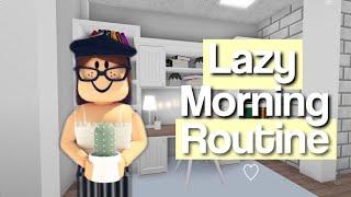 Lazy Morning Routine    Roblox Bloxburg    aexotity exo ♡