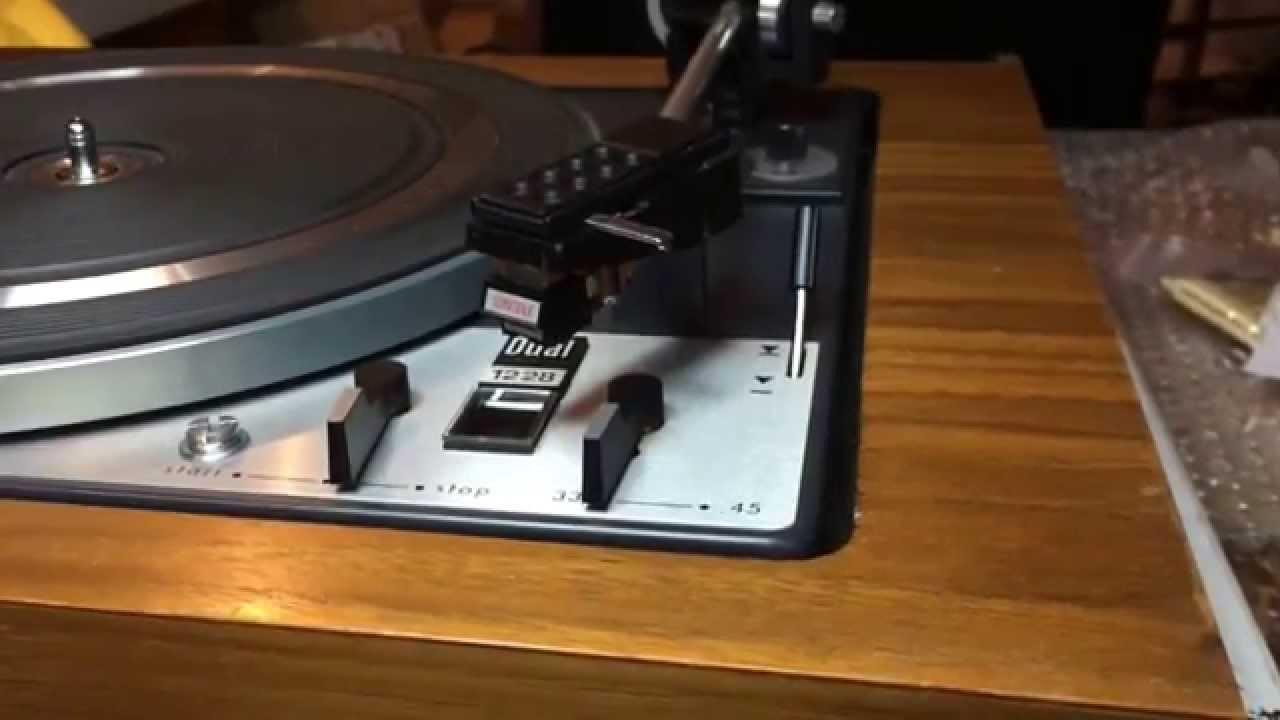 Zaawansowane Restoring a Dual 1228 turntable. - YouTube VA96
