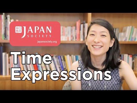 Uki Uki Japanese Lesson 40 - Time Expressions