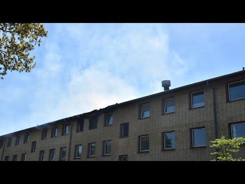 31.05.21 Omfattende brand i etageejendom i Jyderup
