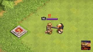 Max Barbarian king vs All Troops (Max) clash of clansh