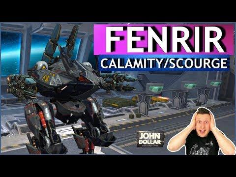 War Robots - Fenrir Calamity Scourge!