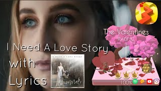 Video Marta - I Need a Love Story - Lyrics - The Valentines - Dancing Line download MP3, 3GP, MP4, WEBM, AVI, FLV Juli 2018