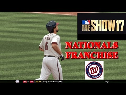 MLB The Show 17 Nationals Franchise #1- OPENING DAY MAGIC!