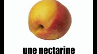 урок французского языка = фрукты