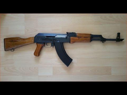 G.S.G. AK-47 CO2 Kalashnikov .177 4,5mm BB (China Yunker) Review / Test (german/deutsch)