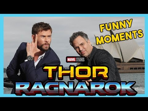 Chris Hemsworth and Mark Ruffalo Funny Moments  THOR RAGNAROK 2017