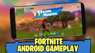 Fortnite Android - Gameplay SAMSUNG GALAXY S8 1080p