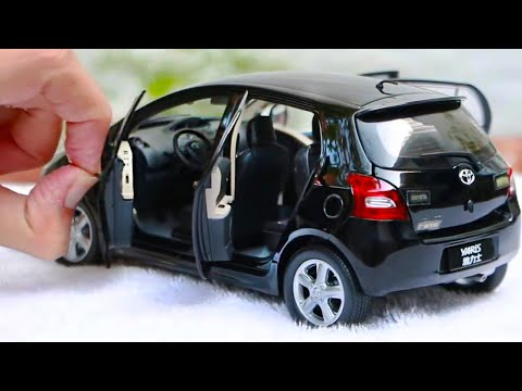 Unboxing Of Toyota Yaris/Vitz/Vios 2007 1:18 Scale Diecast Model Car