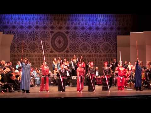 Gan al-Hawa Saidi choreography by Karim Nagi for UCSB Middle East Ensemble