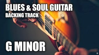 Blues & Soul Guitar Backing Track In G Minor