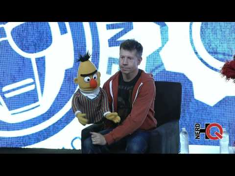 A Conversation with characters from Sesame Street live from #NerdHQ 2014