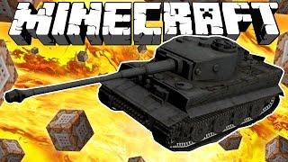 видео: ТАНК БЕЗ МОДОВ! [Команды для Minecraft]
